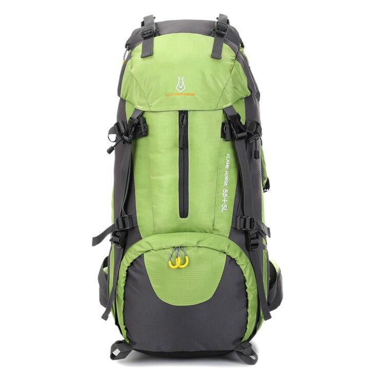 Спортивная походная сумка На открытом воздухе, туристический рюкзак, профессиональная водостойкая сумка для альпинизма 60л