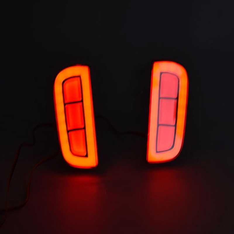 Araba fren lambası LED arka tampon uyarı ışıkları koşu işık dönüş sinyali lambası Honda Civic 2016