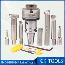 Rango de trabajo de 8 320mm, cabezal de taladrado M16 BT40, NBH2084X, alta precisión 0.005, NBH 2084, con 7Ppcs, XBJ, barras de perforación, herramientas de perforación CNC