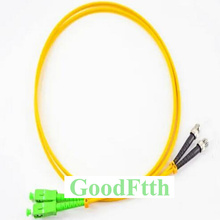Fiber Optic Patch Cord Jumper ST SC/APC SC/APC ST/UPC SM Duplex GoodFtth 20 50m