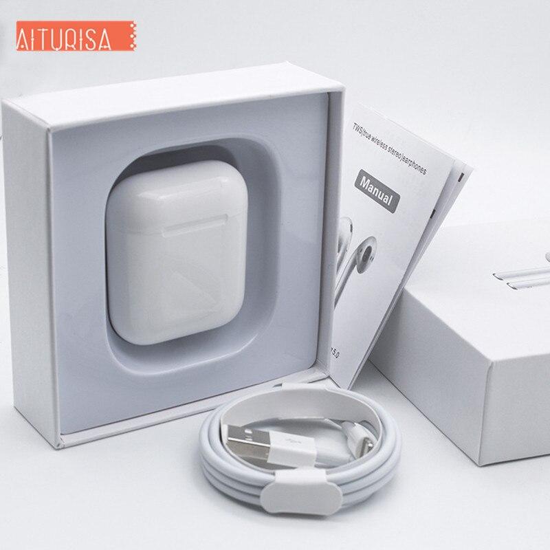 I200 TWS 2 générations réplique 1:1 écouteur sans fil 5D Super basse Original tws pk i20 i60 i80 i100 i500 2.5 heures de jeu