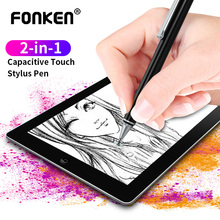 2 In 1 Stylus For Smartphone Tablet Thick Thin Drawing Andro