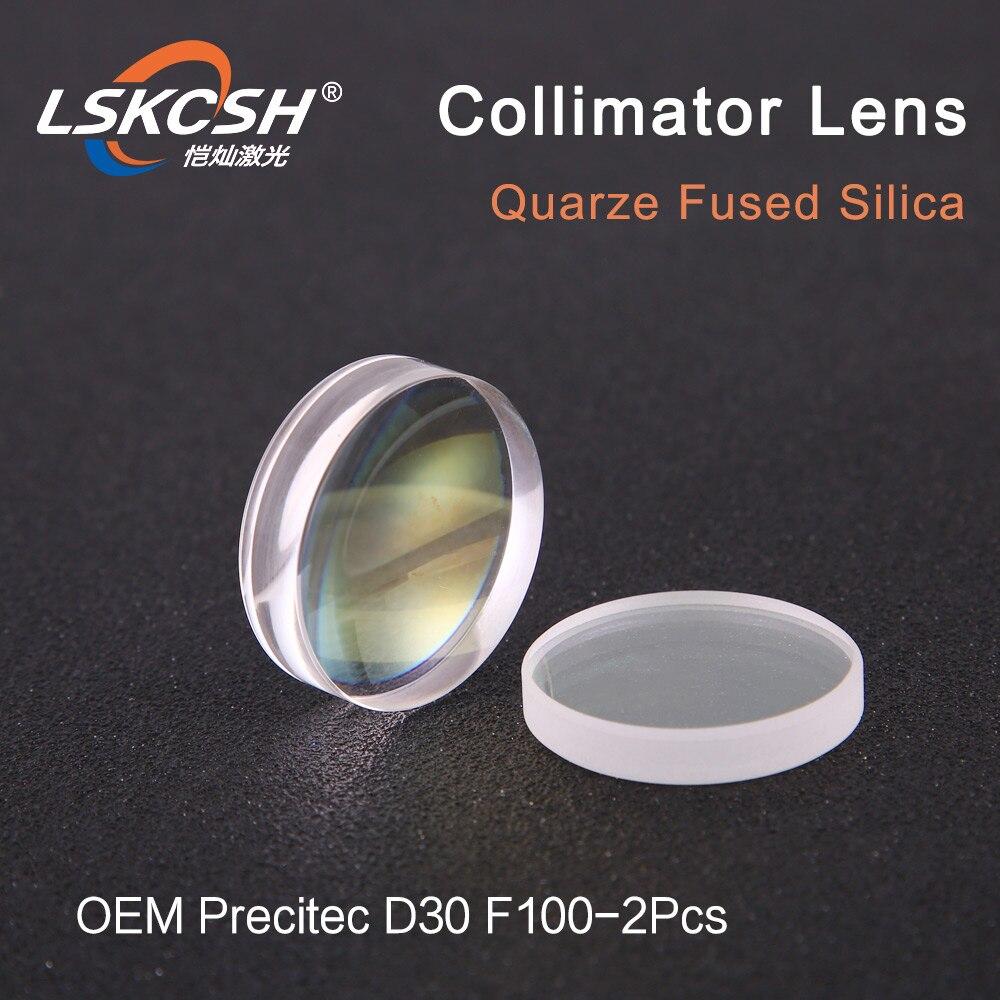 LSKCSH 球状コリメートレンズ D30 F100 2 個 Precitec OEM クォーツ溶融シリカのためのレーザー precitec/WSX ヘッド卸売  グループ上の ツール からの レンズ の中 1