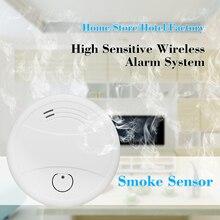 Пожарная система Tuya, система безопасности дома с функцией обнаружения дыма, Wi Fi