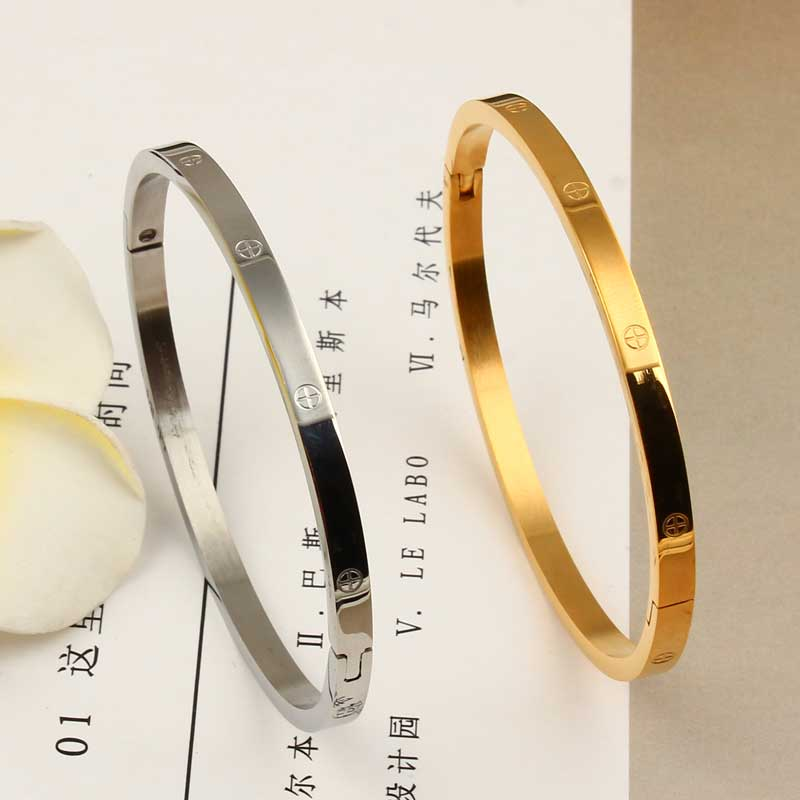 XUANHUA Stainless Steel Cuff Bracelets Bangles For Women Fashion Jewelry Charm Jewelry Accessories Bohemian Stylish Classic