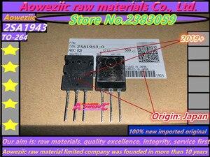 Image 4 - Aoweziic 2019 + 10 قطع = 5 زوج 100% جديد المستوردة الأصلي 2SA1943 2SC5200 A1943 C5200 TO 3P عالية الطاقة الصوت مكبر كهربائي أنبوب