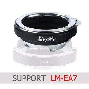 Image 1 - Адаптер K & F, подходящий LM EA7 для объектива Pentax K для камеры Leica M M P M240 M10 M9 M8 M7 M6 M5 M4 MP MD CL
