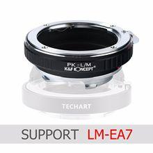 K & f concept 어댑터 펜탁스 k 렌즈 용 LM EA7 leica m 카메라 M P m240 m10 m9 m8 m7 m6 m5 m4 mp md cl