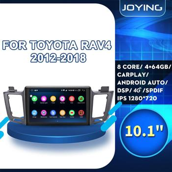 10IPS BT Android 8.1 Car Stereo Autoradio Head Unit For TOYOTA RAV4 RAV 4 2012 2013 2014 2015 2016 2017 2018 GPS DVD Player SWC image