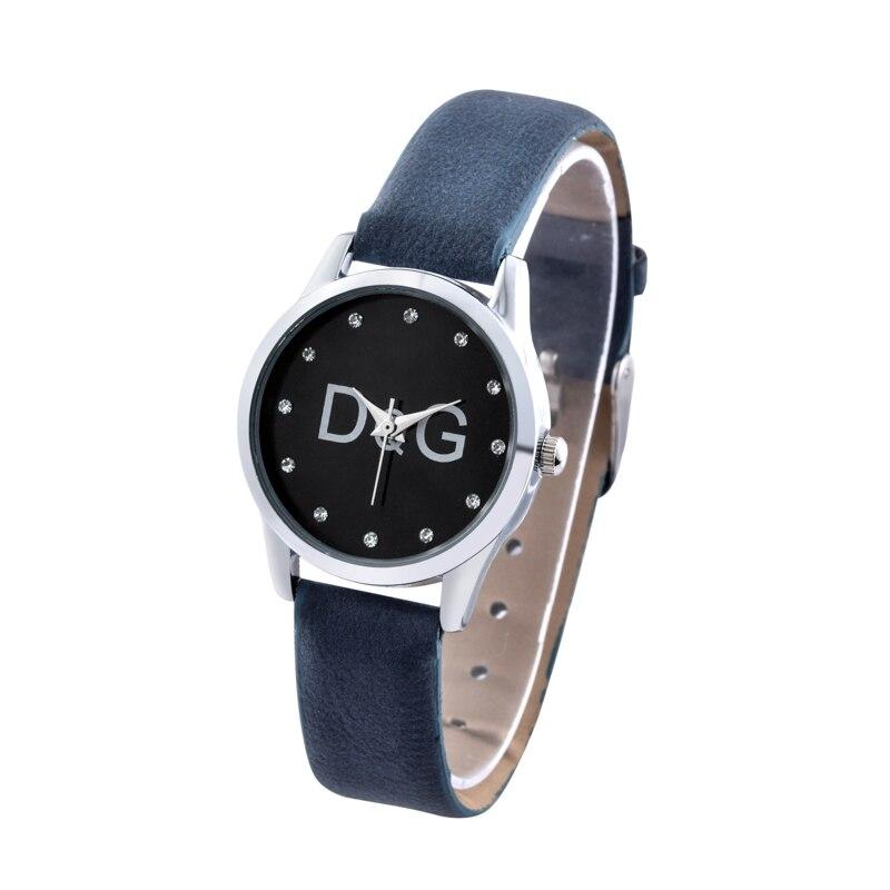 Zegarek Damski 2019 New Fashion Simple Women's Watch Famous Brand Quartz Watches Women's Casual Leather Wristwatches Reloj Mujer