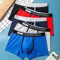 Männer Boxer Shorts Unterwäsche Männer Hause Unterhose Gedruckt Männer Boxer Cuecas Baumwolle Weichen Männlichen Höschen Homme Unterwäsche Männer
