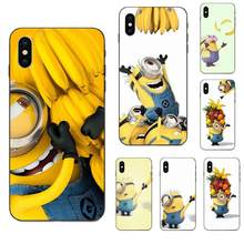 Soft Design Cute Minion And Banana For Huawei Honor 5A 6A 6C 7A 7C 7X 8 8A 8C 8X 9 9X 10 10i 20 Lite Pro(China)