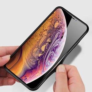Image 5 - 100 pièces/lot pour iPhone 11 Pro Max dur verre trempé marbre dégradé arrière coque souple pour iPhone 11