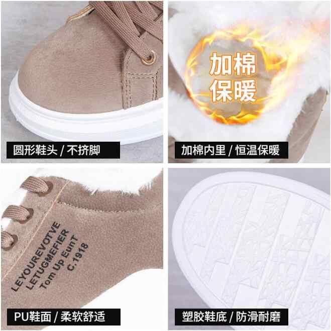 Neue 2019 Mode Stiefel Frauen Elastische Ankle Schwein Wildleder Brogue Boot Echtes Leder Qualität Marke Dame Schuhe Handgemachte XL59