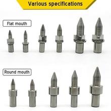 Thermische Reibung Hot Melt Kurz Drill Bit M3 M4 M5 M6 M8 M10 M12 M14 Runde/Flache Typ ALI88