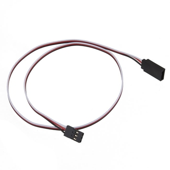Hot! 1pcs 50cm RC Servo Extension cord 500mm Lead Wire Cabel control For Helicopter Airplane Car etc New Sale image