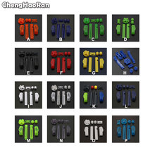 ChengHaoRan Hot Multi Color Replacement Keypads L R A B Buttons For Gameboy Advance Frame For GBA D Pads Power ON OFF Button