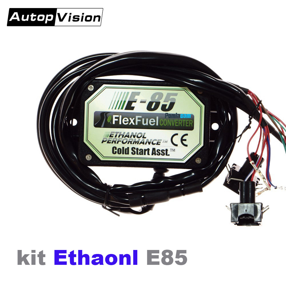 E85 Conversion Kit 3cyl With Cold Start Asst Biofuel E85  Ethanol Car Bioethanol Converter Vehicles  7 Connector Optional