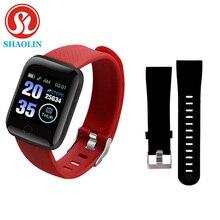 חכם צמיד שעון צבע מסך קצב לב לחץ דם ניטור מסלול תנועה חכם להקת עבור אנדרואיד אפל שעון pk IWO