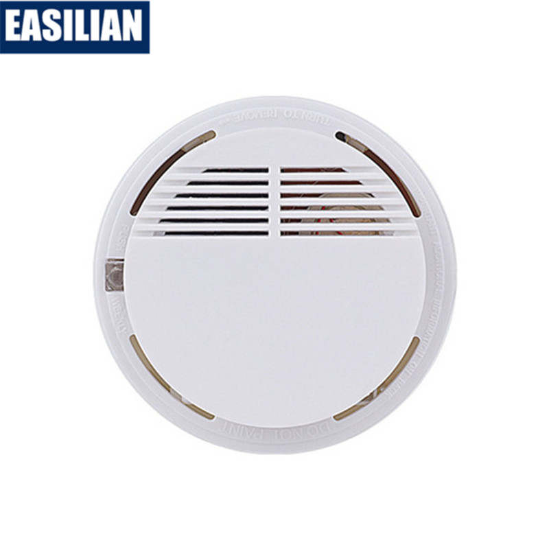 Independent Smoke Detector Sound-light Fire Alarm Somke Sensor 85db Tester For Office School Hotel Kitchen Home Security System