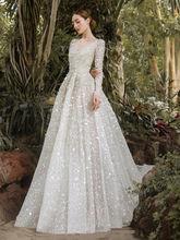 Роскошное Свадебное платье kesna в мусульманском стиле с длинным