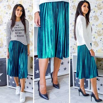 Sexy Elegant Vintage Autumn High Skirt 2