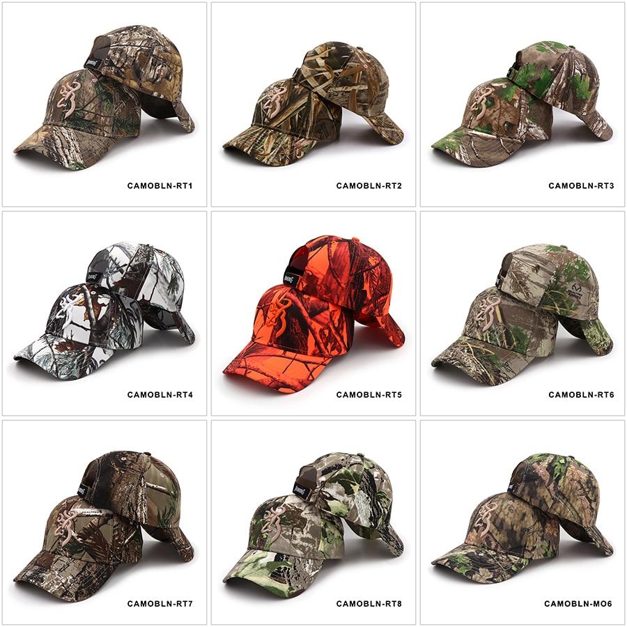 Browning Camo Fishing Hunting Caps Baseball Cap Mens Outdoor Hunting  Camouflage | eBay