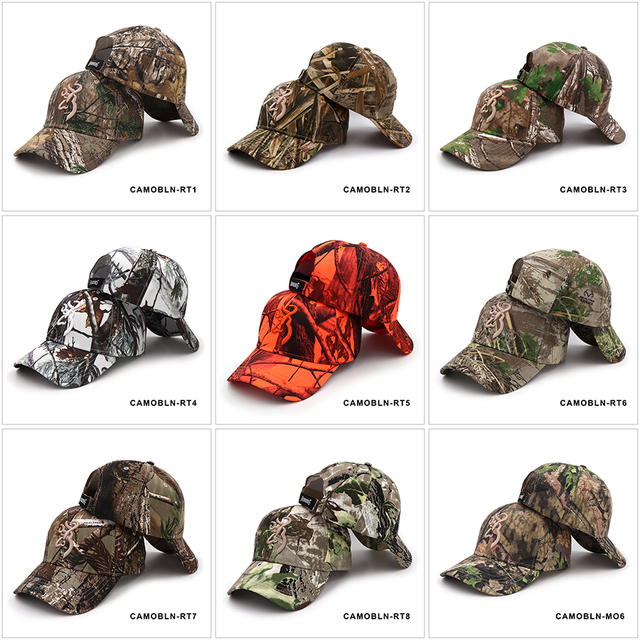 KOEP 2021 New Camo Baseball Cap Fishing Caps Men Outdoor Hunting Camouflage Jungle Hat Airsoft Tactical Hiking Casquette Hats 2