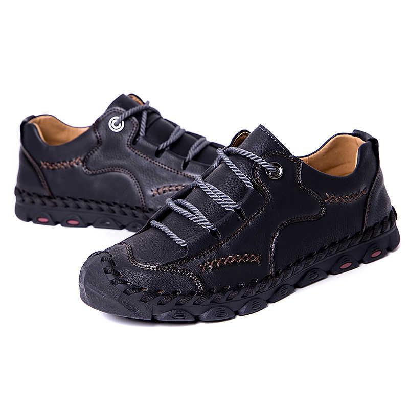 Hot! Zomer Zachte Mannen Casual Schoenen Ademende Lederen Handgemaakte Instappers Merk Mannen Italië Rome Schoenen Platte Mocassins Mannen Sneakers