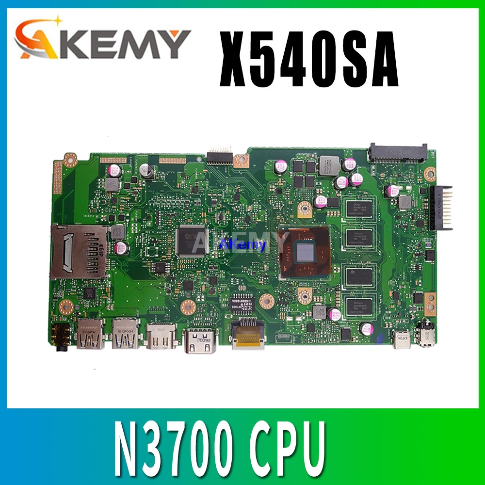 X540SA REV2.1 fit for ASUS X540S X540SA N3700 CPU 4 cores Laptop motherboard W/ 4GB-RAM test motherboard work 100% pay image