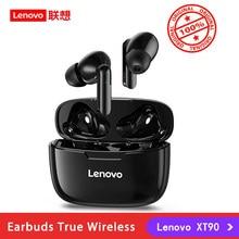 Lenovo – écouteurs sans fil Bluetooth 5.0 XT90 TWS, Mini oreillettes de Sport, à commande tactile, mains libres, avec micro HD, originales