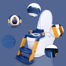 Training-Seat Baby-Toilet-Seat Ladder Children's Potty Adjustable Infant