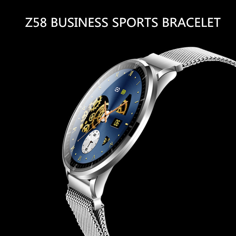 Business ultra dünne full touch <font><b>IP68</b></font> wasserdichte Bluetooth <font><b>smart</b></font> Armband Uhr image