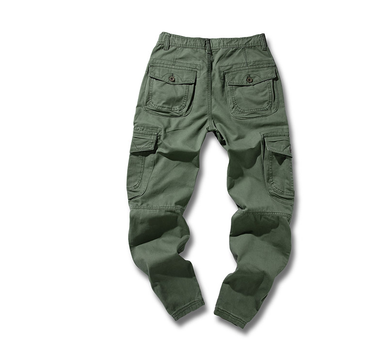 KSTUN 2020 Mens Military Cargo Pants Multi-pockets Baggy Men Cotton Pants Casual Overalls Army Oustdoor Tactical Trousers High Quality 25