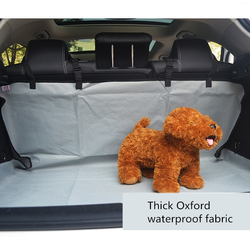 Car Mat Oxford Waterproof Pet Back Seat Cover Protector Anti dirty Portable Universal For Automobile Trunk Carrier Cushion in Houses Kennels Pens from Home Garden