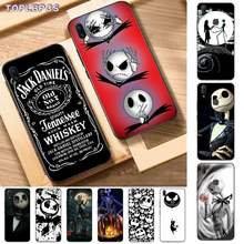 TOPLBPCS Hot Jack skellington Bling Cute Phone Case for Vivo Y91C 31 53 19 11 17 81 55 66 69 71 V11 i 9 7 67(China)
