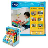 Vtech COS263656 Sort and Discover Activity Cube, Multi Color 9 36 Months Interactive Learning Fun Toy