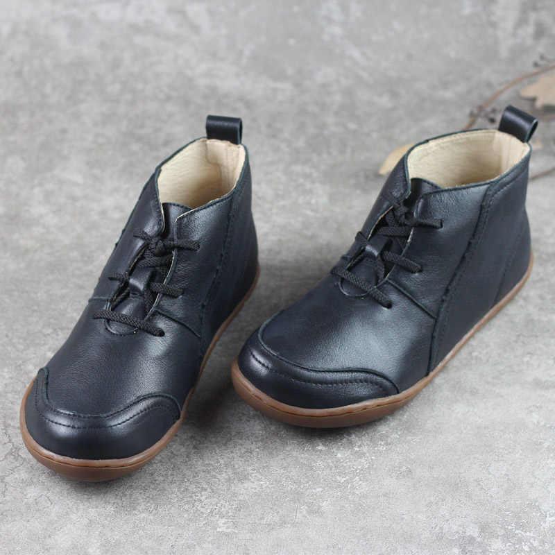 (35-42) IMTER รองเท้าผู้หญิงรองเท้าแตะรองเท้าหนังแท้ 100% ผู้หญิงรองเท้าข้อเท้ารองเท้าฤดูใบไม้ร่วงฤดูใบไม้ร่วงรองเท้าผู้หญิง Plus ขนาด