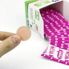 Stickers Bandages Hemostatic First-Aid-Kit Medical 100pcs Adhesive Round Breathable Waterproof