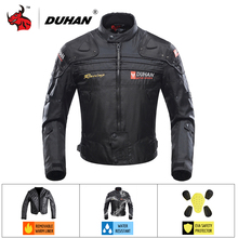 DUHAN Motorcycle Jacket Autumn Winte cold-proof Jaqueta Moto