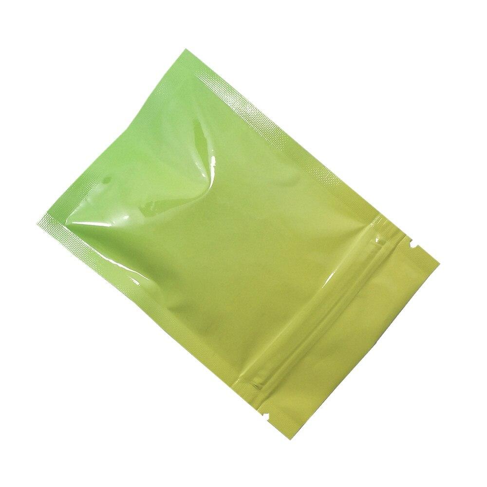 黄绿渐变铝箔自封袋 C
