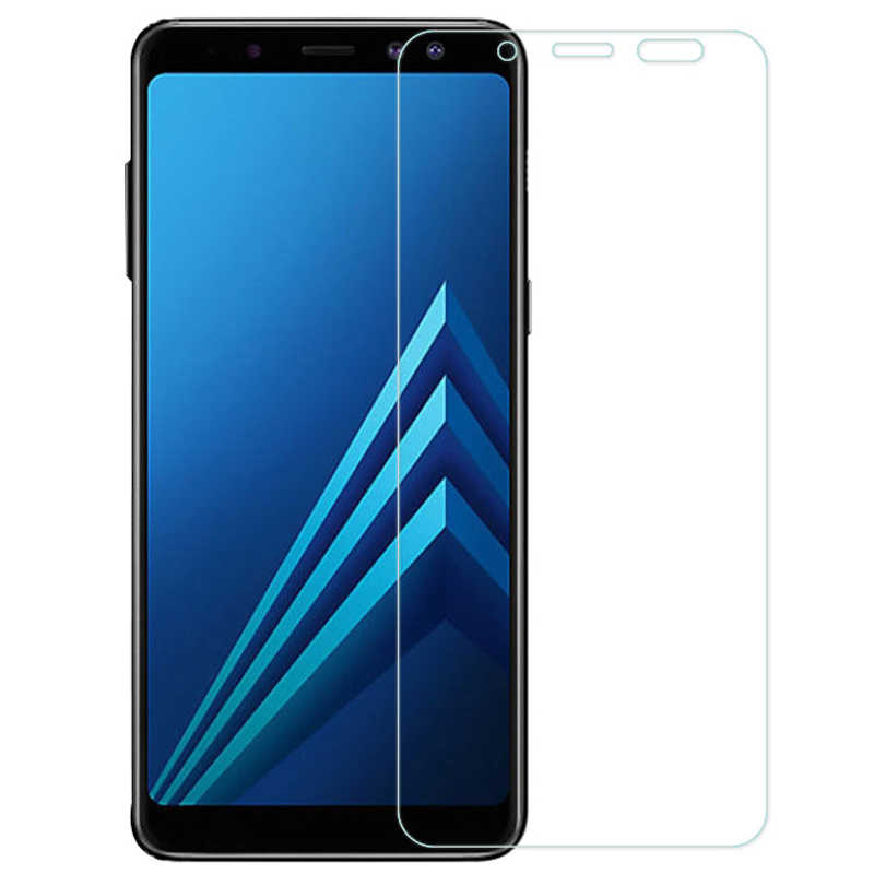 9H Protective Glass on the For Samsung Galaxy A3 A5 A7 2015 2016 2017 Screen Protector A6 A8 Plus A9 2018 Tempered Glass Film