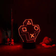 Ps4-ゲーム,部屋の装飾,テーブル,コンソール,アイコンのセンサー,子供へのギフト用の照明付きLEDナイトランプ