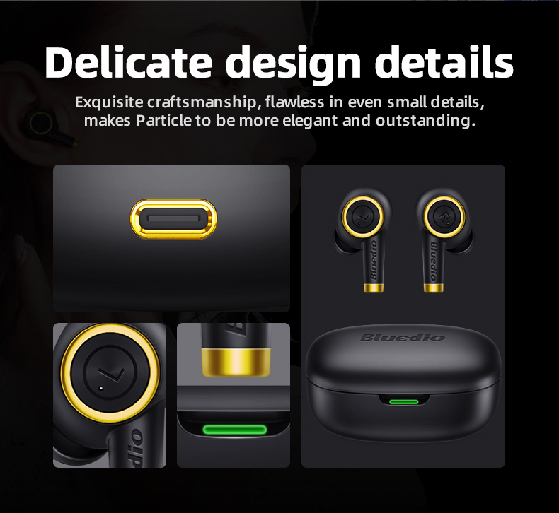 Bluedio Particle TWS Wireless Earbuds 4