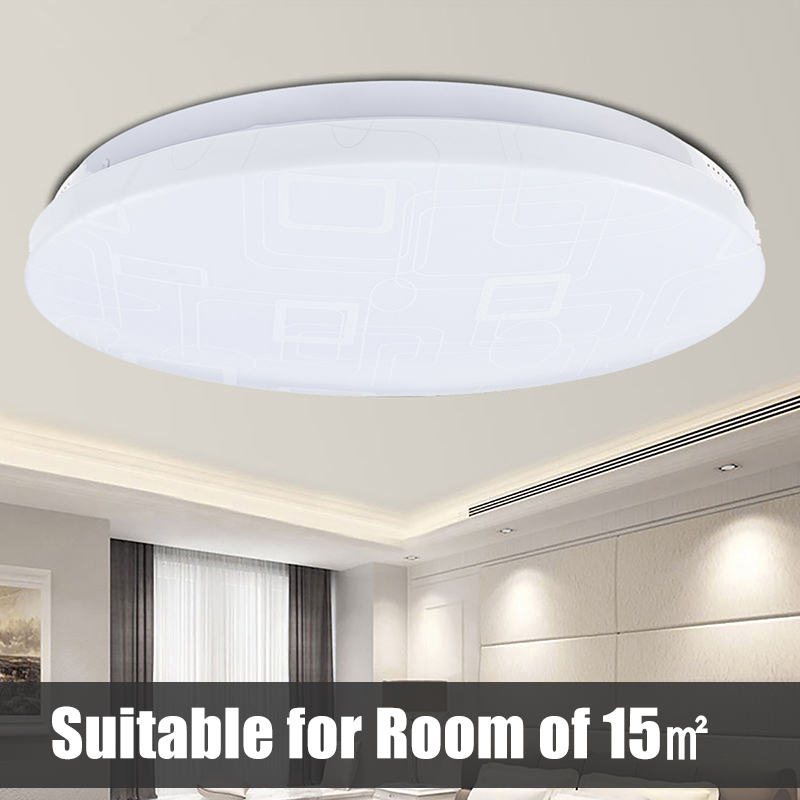Ultra Thin LED Panel Lamp LED Ceiling Light 15W 20W 30W Down Light Surface Mounted AC220V Modern Led Ceiling Lamp Home Lighting