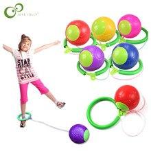 1 Uds. Bola kip, pelota de juguete divertida para exteriores, juguete para saltar, coordinación del ejercicio y equilibrio, parque infantil de salto, pelota de juguete ZXH