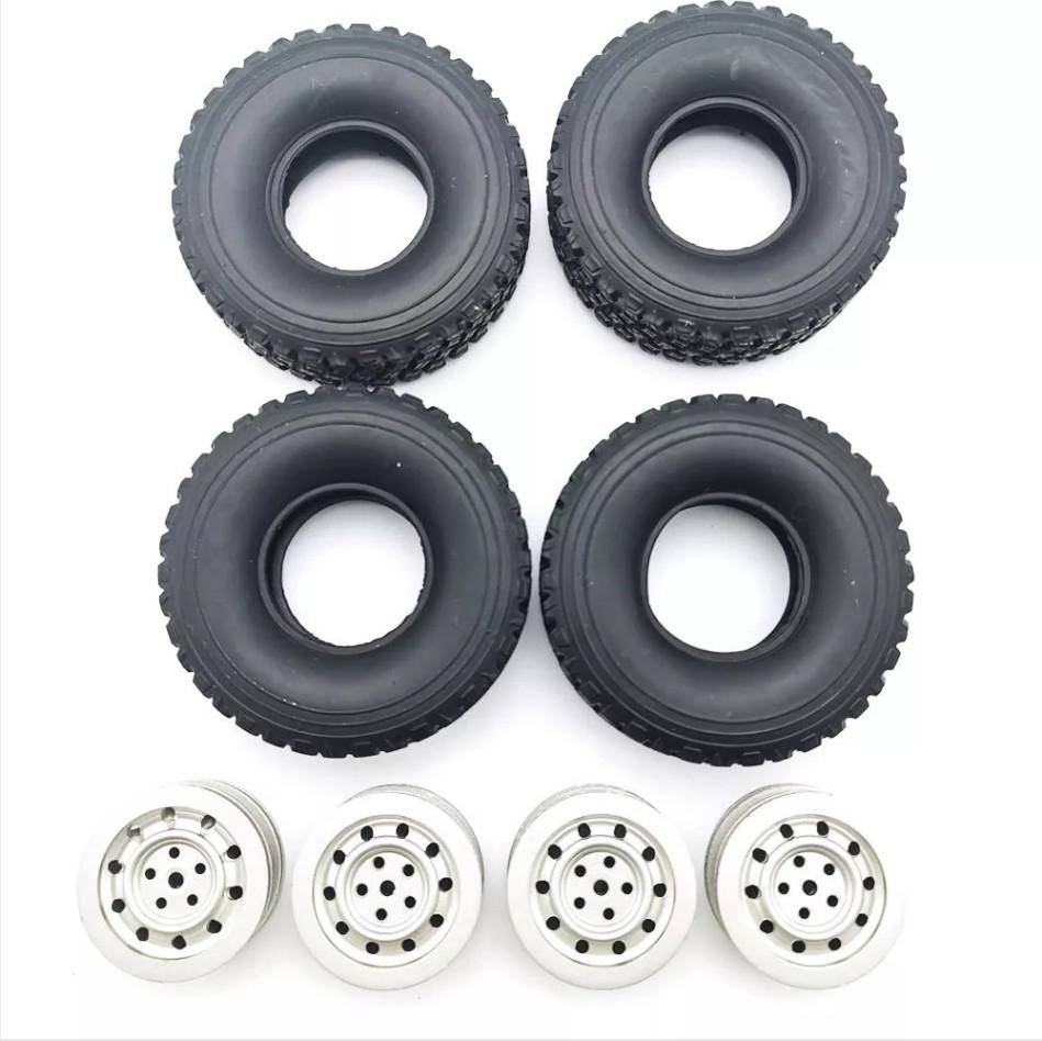 RC Car Wheel Hub for 1/16 WPL C1 C14 C24 C34 B16 B24 B36 <font><b>JJRC</b></font> Q60 <font><b>Q61</b></font> Q63 Q65 MN 90 99 <font><b>Parts</b></font> image