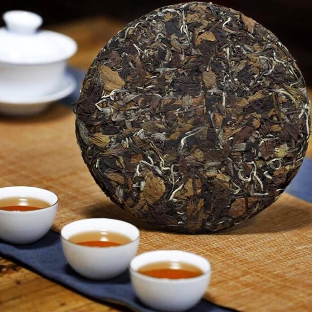 High Quality White Tea 300g Fuding Shoumei Old White Tea Green Food Lowering Blood Pressure Shoumei Tea
