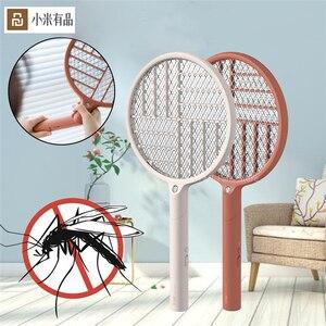 Image 1 - Youpin Sothing Электрическая мухобойка Swat светодиодный заряжаемая Складная мухобойка USB зарядка мухта мухобойка Устранитель мухобойка