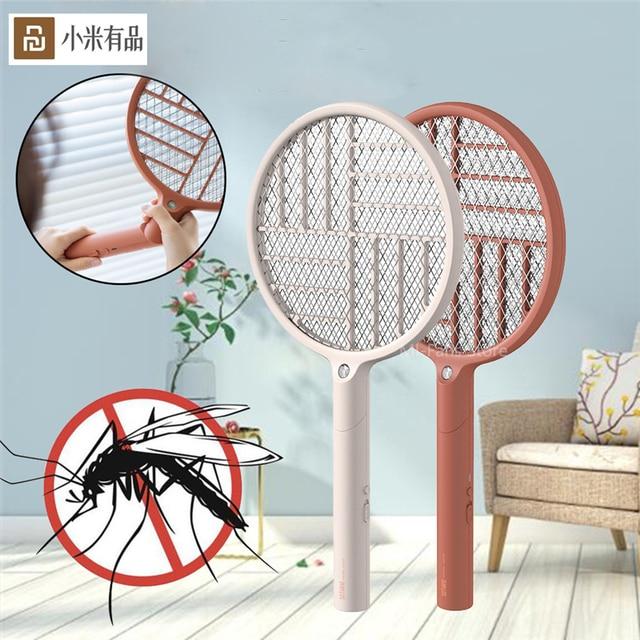 Youpin Sothing Электрическая мухобойка Swat светодиодный заряжаемая Складная мухобойка USB зарядка мухта мухобойка Устранитель мухобойка
